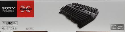 sony xplod gtx xm gtx1821 1,000w amplifier walmart com Sony Xplod 1200 Watt Amp Wiring Diagram Sony Xplod 1200 Watt Amp Wiring Diagram #43 Sony Xplod Amplifier Manual