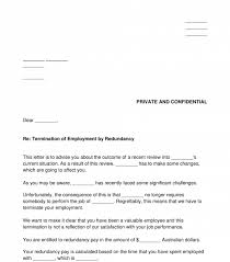 You add your company name and logo you can often download a sample contract and modify it for free. Letter Of Termination Of Employment Redundancy