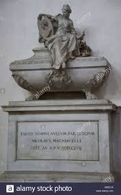 niccolo machiavelli stock photos niccolo machiavelli stock tomb of niccolo machiavelli in the santa croce church florence unesco world heritage site