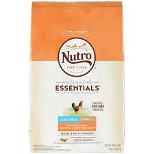 Nutro Wholesome Essentials Natural Puppy Large Breed Dry Dog Food Farm Raised Chicken Brown Rice Sweet Potato Recipe 15 Lb Bag