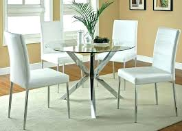black glass round dining table and chairs round glass dining table set round glass dining table