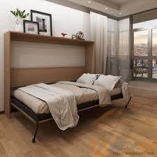 horizontal urban murphy bed open