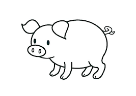 Peppa Pig Coloring Pages Free Printable Zebra In Pig Coloring Page