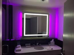 funky bathroom lighting. 21c Museum Hotel Durham: Very Funky Bathroom Lighting (you Can Make It All White TripAdvisor