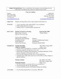 Free Nursingume Templates Rare Registered Nurse Example Sample
