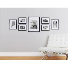 pinnacle 7 opening matted picture frame collage set