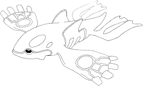 Exclusive Idea Kyogre Coloring Pages Coloring