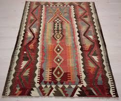 semi old turkish tribal kilim