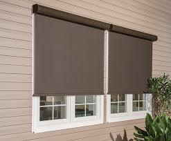 graber exterior solar shades window