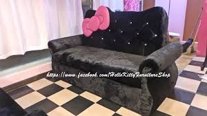 hello kitty furniture. image may contain people sitting and indoor hello kitty furniture