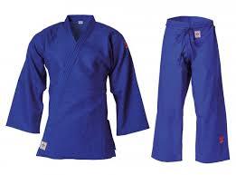 Judo Uniform Kusakura Jof Blue Ijf Rec