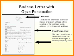 how to open a business letter address format comma recent like business letter with open