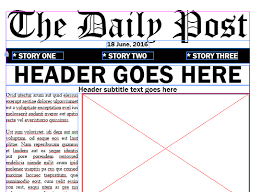 Adobe Indesign Newspaper Templates Adobe Education Exchange