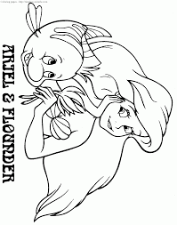 Small Picture Coloring Pages Of Ariel Coloring Coloring Pages