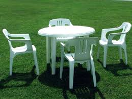 white plastic patio table and chairs. White Plastic Outdoor Table And Chairs, Patio Chairs A