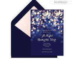 Formal Invite Formal Invitation Etsy