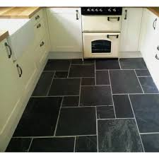 Stone Kitchen Floor Tiles Black Slate Kitchen Floor Tiles Kitchen Classic Grey Riven Slate