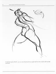 force dynamic life drawing for animators directional force and main movement