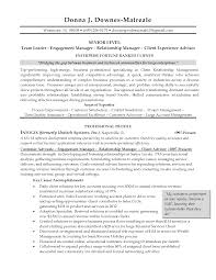 Client Relations Manager Sample Resume Mitocadorcoreano Com