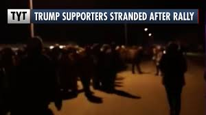 Trump Supporters Stranded After Rally ...
