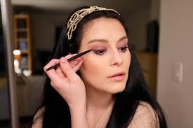 step 3 apply eyeliner