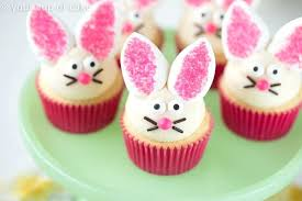 Cupcakes Decorations Ideas Easy Bunny Cupcakes With Marshmallow Ears