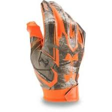 Details About New Mens Ua Under Armour F5 Camo Football Gloves 1277944 340