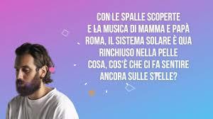 Tommaso Paradiso - I nostri anni (Testo / Lyrics) Chords ...