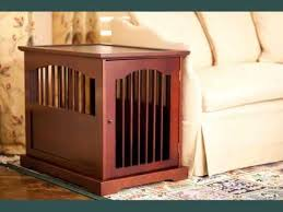 Collection Wood Dog Crate Furniture