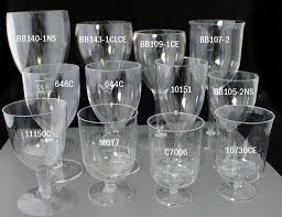 plastic wine glasses compared