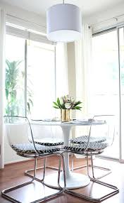 acrylic dining chairs clear. full image for clear chairs that have minimal visual weight and a round table good acrylic dining