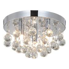 crystal chandeliers lighting sold by rh ruivast flush mount ceiling light 3g9