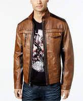 Inc International Concepts Men S Jackets Size Chart Inc Men Jones Two Tone Faux Leather Jacket