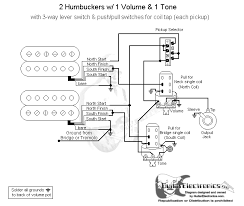wiring diagram 2 humbuckers 3 way switch wiring diagram 2 humbucker 1 vol tone 3 way blade switch source craig s giutar tech resource wiring diagrams