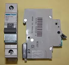 hager mtn116 miniature circuit breaker, 1 pole, 1 module, type b how to replace a faulty rcd at Hager Fuse Box Change Fuse