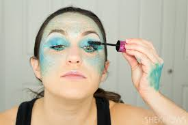 looking for a magical costume this mermaid makeup is where it s at