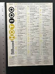 Billboard Charts April 1975