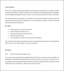 Resume Cover Letter Examples For Highschool Students Cover Letter