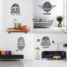 2017 new wall stickers decals star wars home decor for kis living