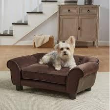 lonnie cleo dog sofa with cushion
