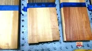 Saman Water Based Stain Color Chart Water Based Wood Stain