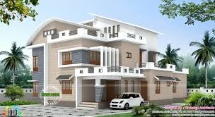 Modern 4 Bedroom House Plans 4 Bedroom Modern Mix House Plan Kerala Home Design Bloglovin