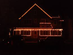 Christmas Light Installation Broomfield Co Broomfield Co Residence White C7 And Icicle Lights On