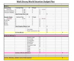 Vacation Budget Spreadsheet Template Staying Spreadsheet Google