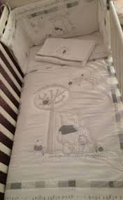 winnie the pooh starry night cot bedding from babies r us
