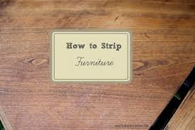 DIY How to Strip Furniture Finding Silver Pennies