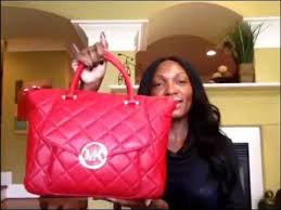 What's In My Purse and Review of Michael Kors Fulton Quilted Bag ... & What's In My Purse and Review of Michael Kors Fulton Quilted Bag - YouTube Adamdwight.com