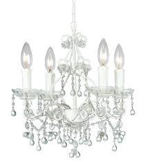 mini white chandelier market 4 light clear crystal white mini chandelier hampton bay white mini chandelier mini white chandelier
