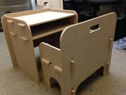 Slot Table Child S Slot Together Table And Chair