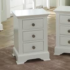 white bedside table davenport white range
